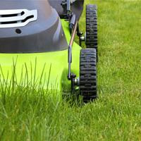 Lawn Mowing Mill Hill